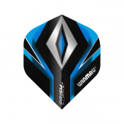 Winmau Prism Alpha Std 127 Black Diamond